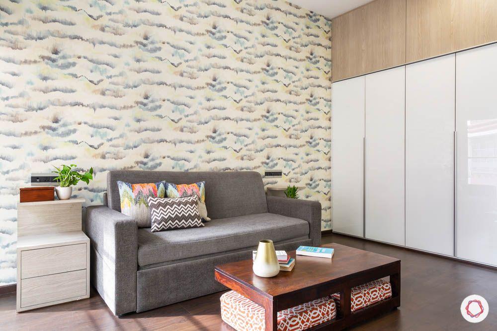 grey sofa design-white wardrobe designs