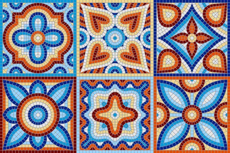 Mosaic vs Terrazzo-mosaic