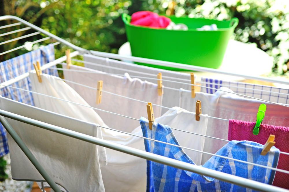 Utility Room-Drying Clothes