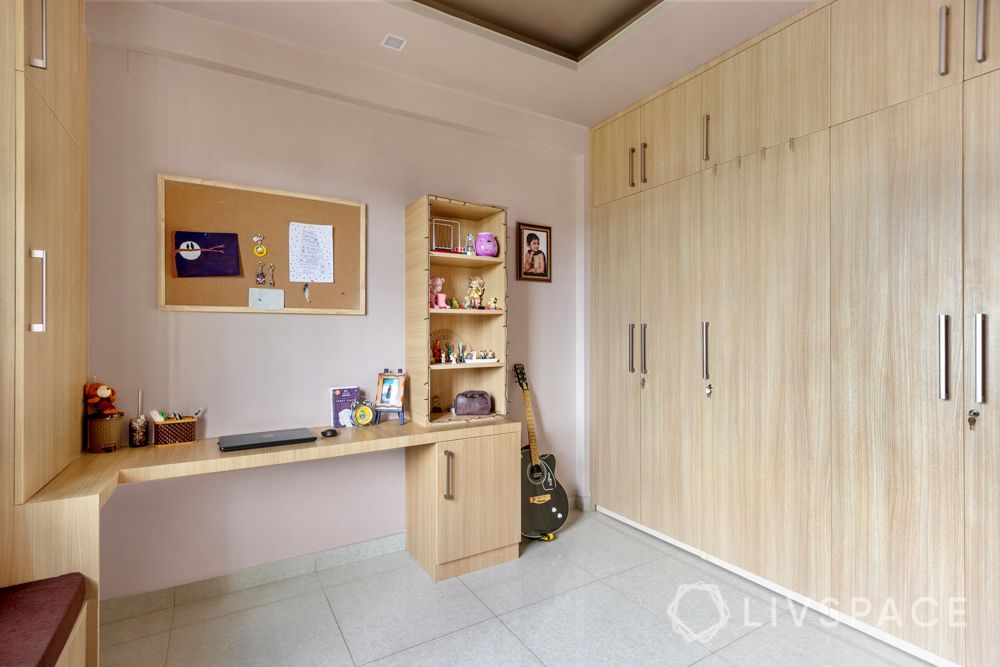 home-interior-designers-in-bangalore-prestige-bagamane-temple-bells-kids-room-study-table