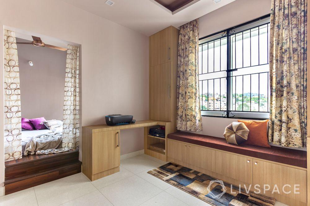 home-interior-designers-in-bangalore-prestige-bagamane-temple-bells-kids-room-bay-seating