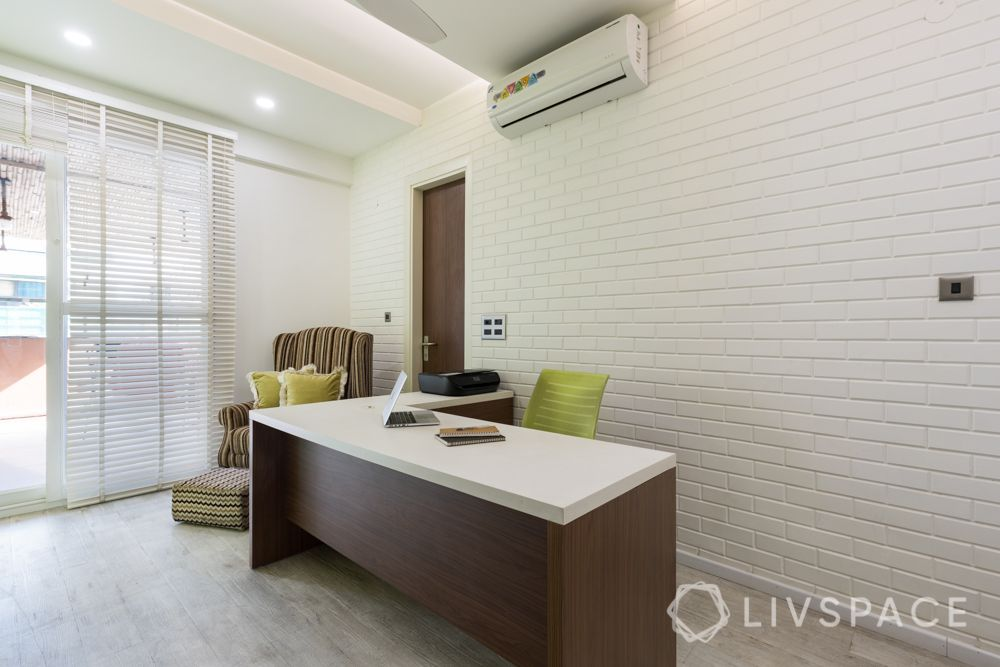 white exposed brick wall tiles-white wall designs