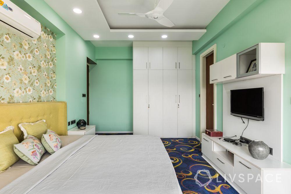 green wall ideas-carpet designs for floor