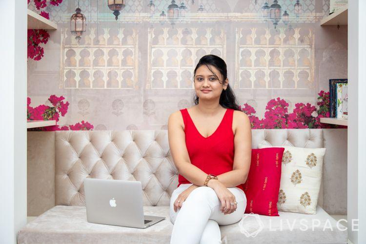 indian wallpaper designs-shelf designs