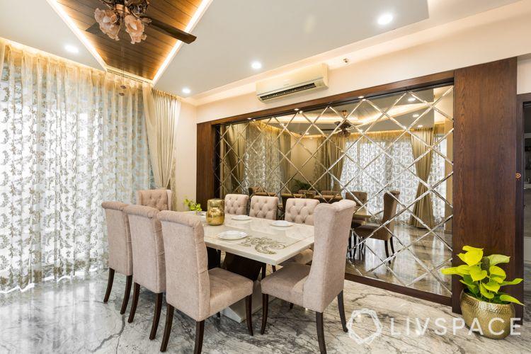 mirror panel designs-marble table designs