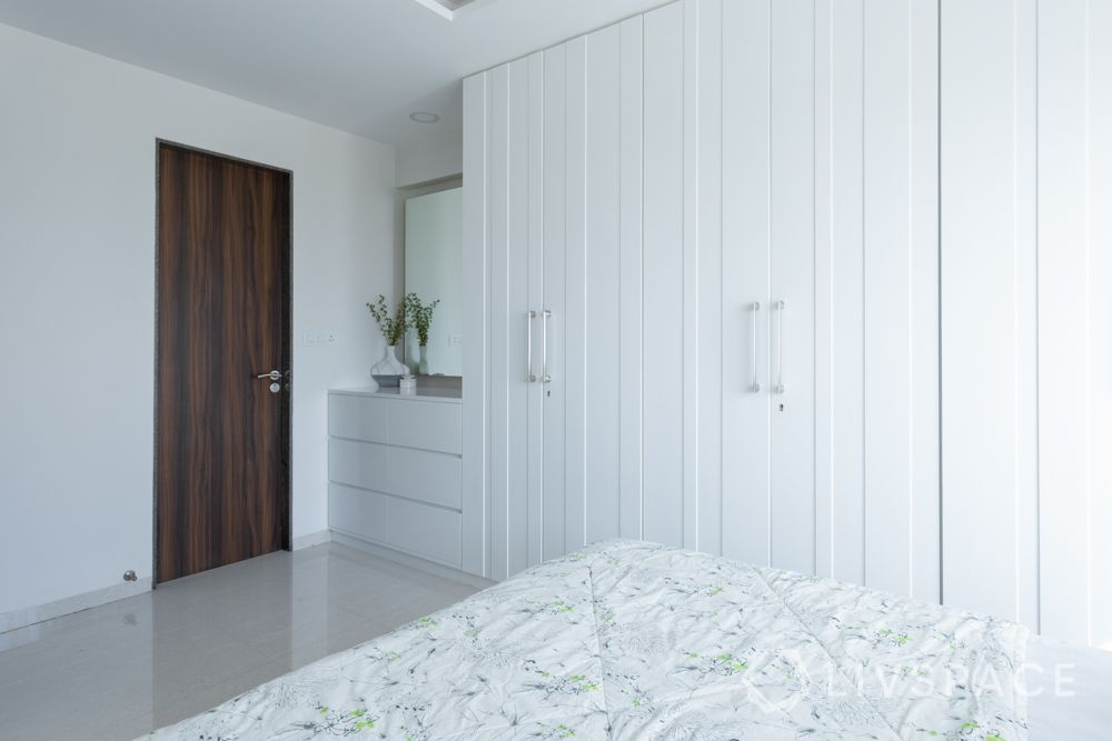 wardrobe finishes-pu finish wardrobe-white wardrobe designs