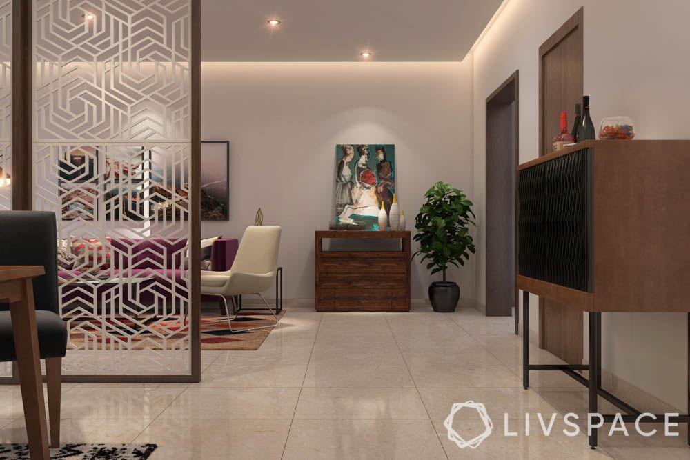Vitrified Tiles vs Granite-living room-vitrified flooring