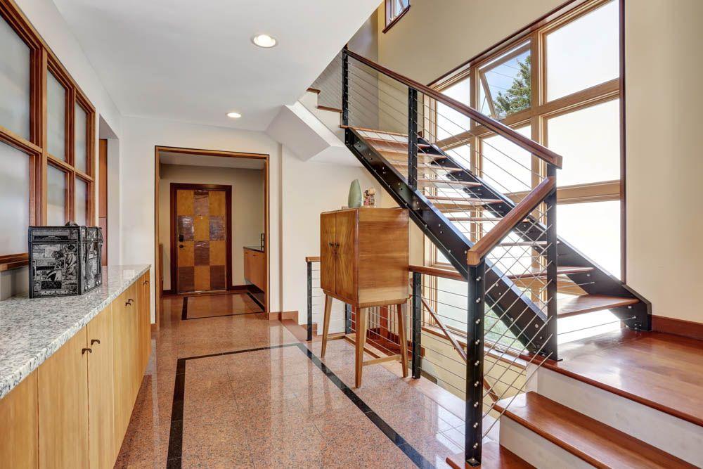 Vitrified Tiles vs Granite-granite flooring-staircase