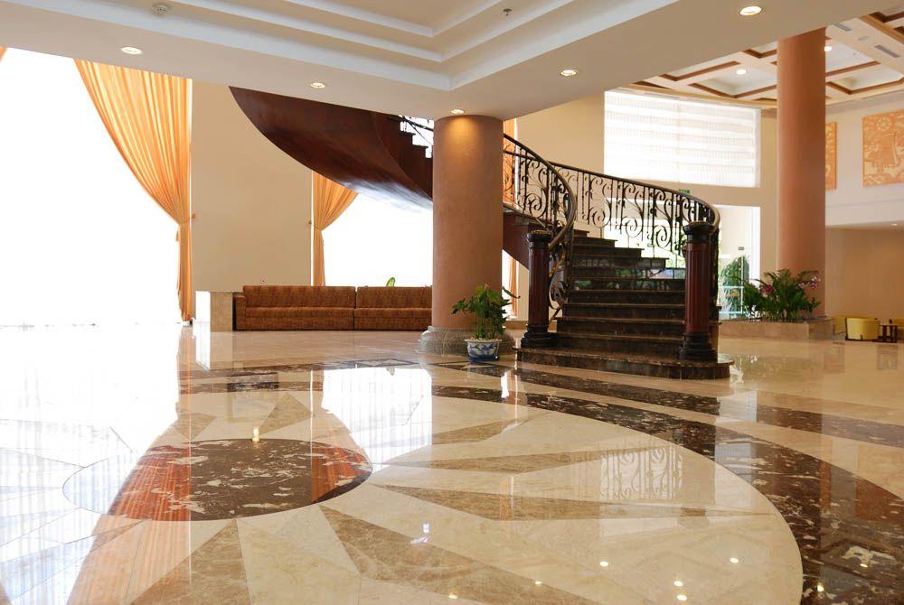 Vitrified Tiles Vs Granite-Staircase-granite patterns