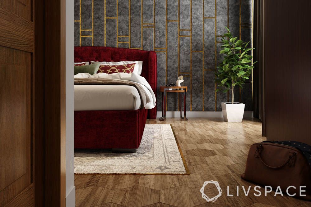 best flooring for house-vinyl flooring-bedroom