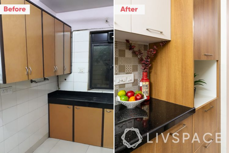 2-bhk-flat-in-mumbai-kitchen-cabinets-before-after