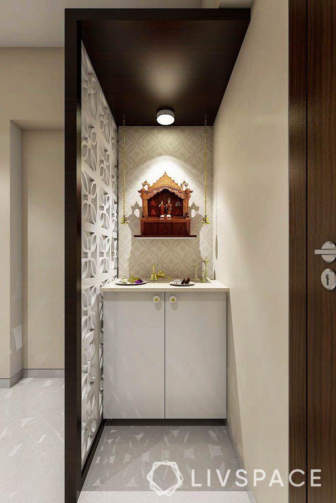 small-house-interior-2-bhk-flat-in-mumbai-mandir-pooja-unit