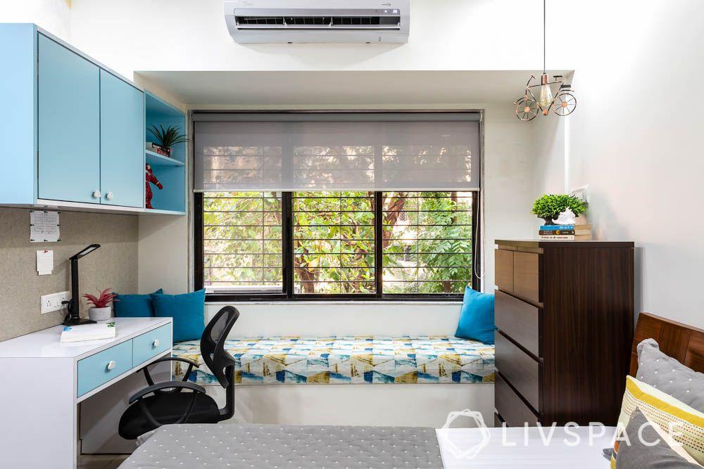 2-bhk-flat-in-mumbai-kids-bedroom-window-seating
