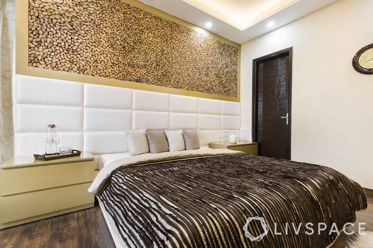 interior designer in noida-textured wall