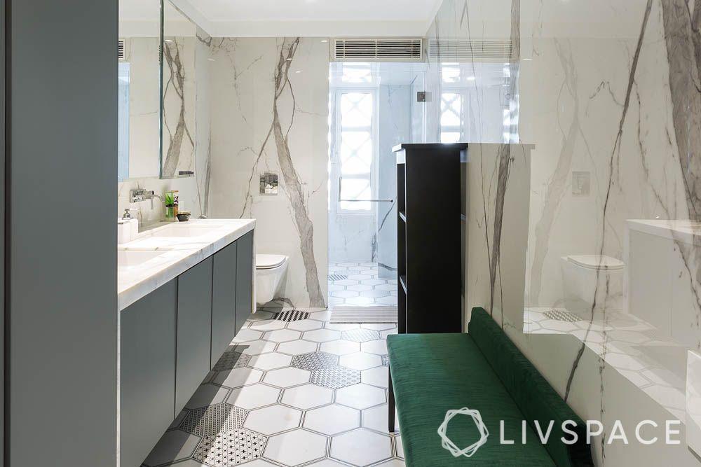 ceramic tiles-bathroom flooring