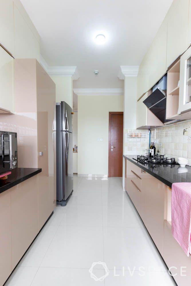 Kitchen-acrylic finishes-fridge-oven