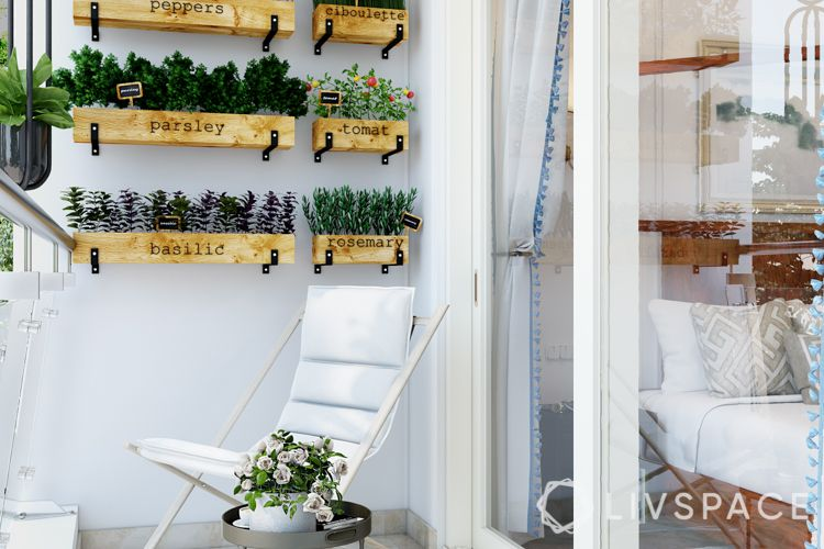 plants-chair-vertical garden