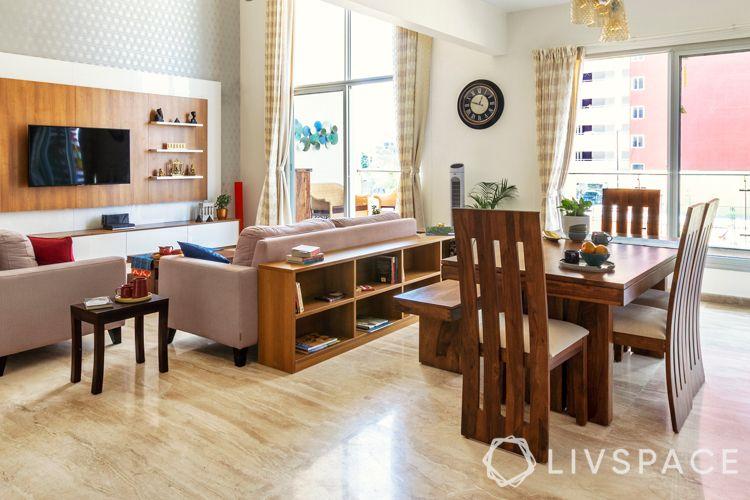 shelf design-low-lying shelf-wooden shelf design