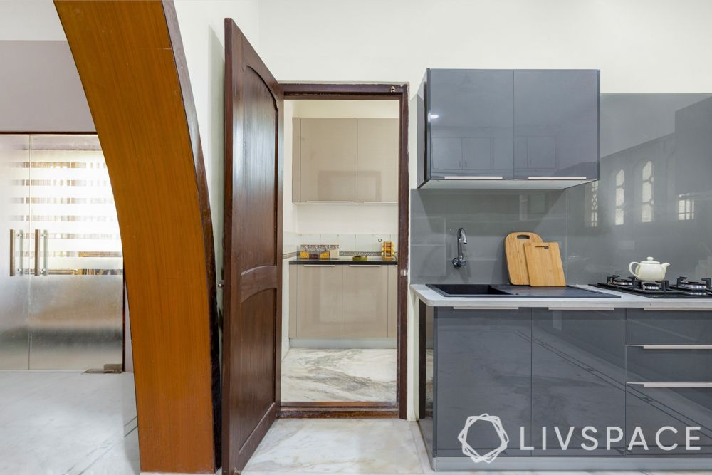 grey-modular-kitchen-utility-entrance