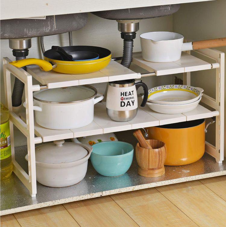 under sink organizer-kitchen cabinet organizer