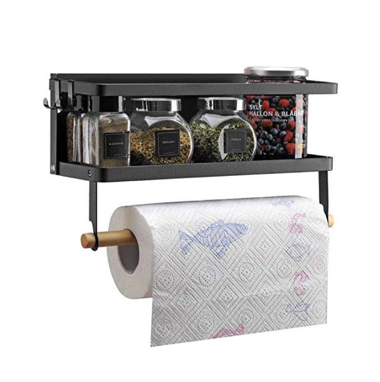 how to organize kitchen-tissue holder
