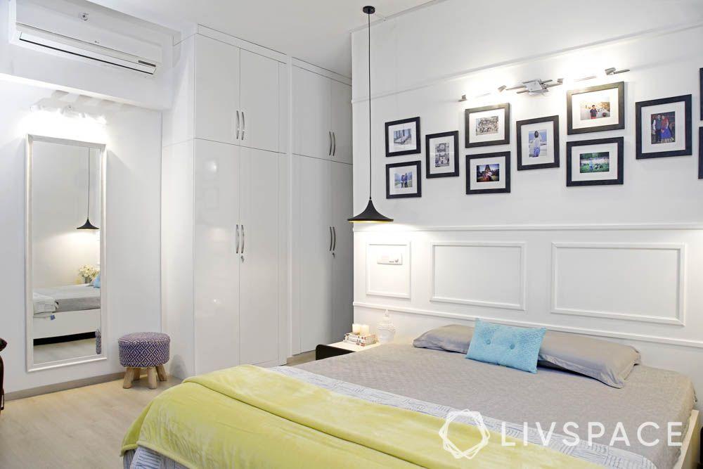 Bedroom-gallery wall