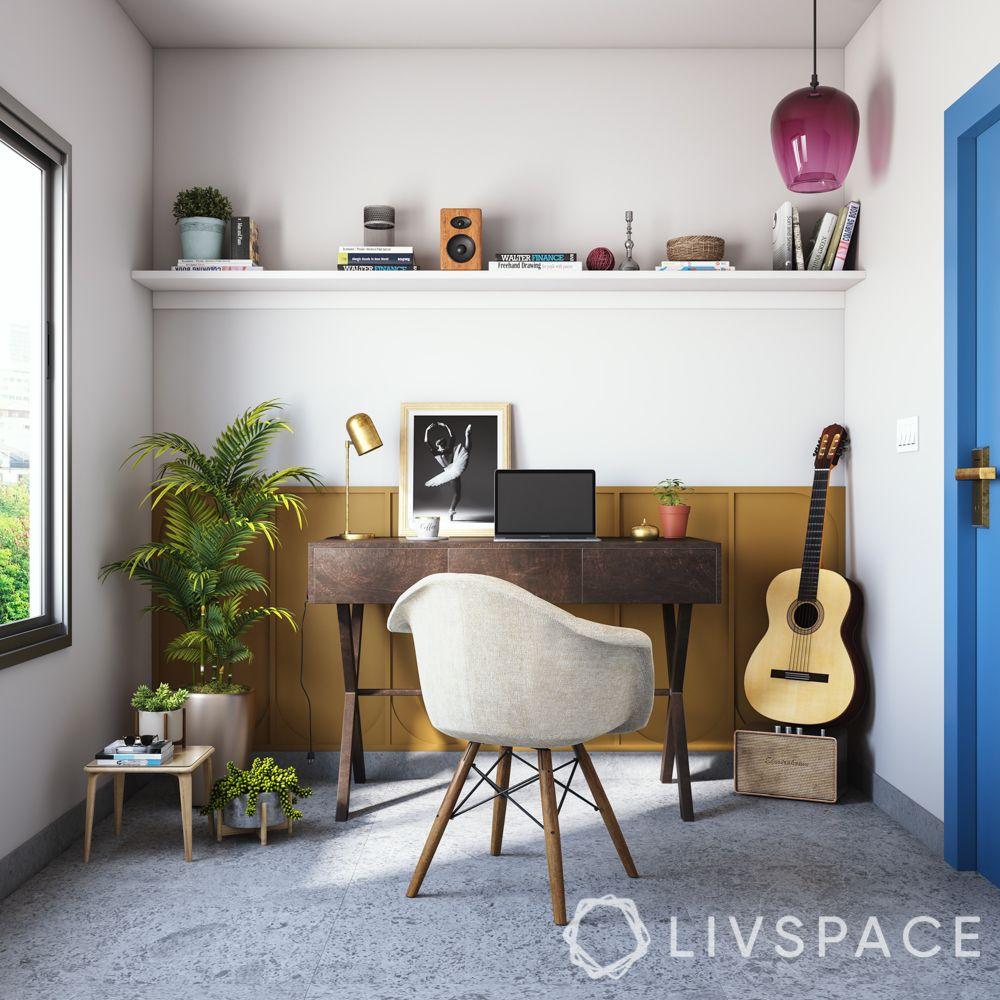 jacqueline-fernandez-study-nook-guitar-planters