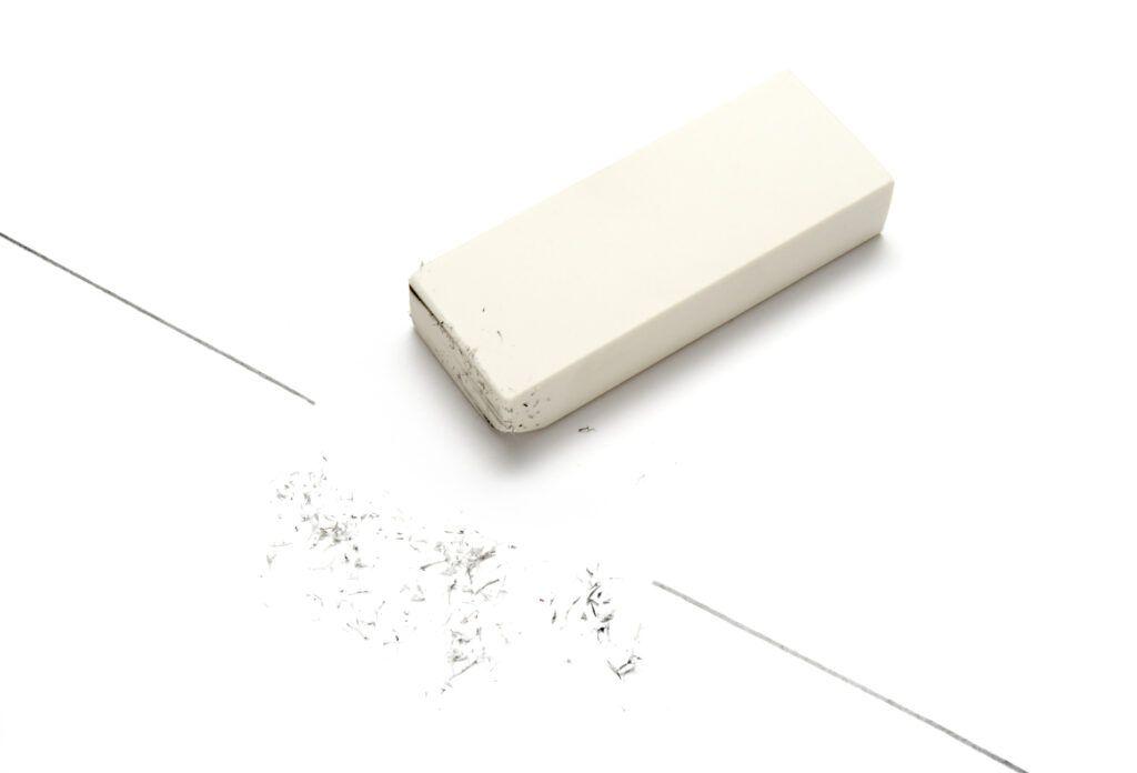 How to clean kitchen cabinets-eraser