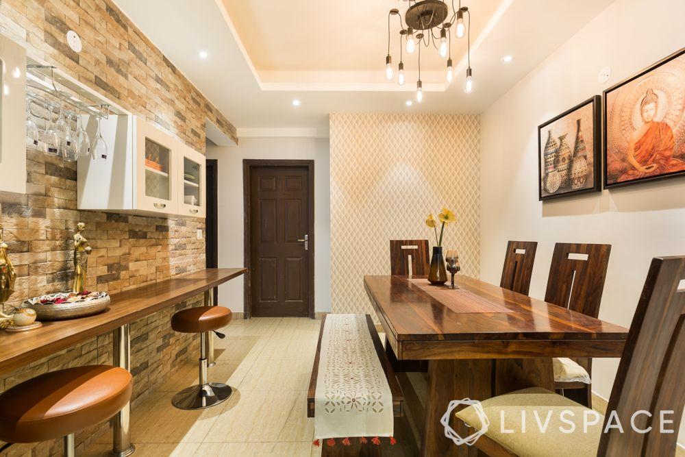 3bhk-flat-design-bar area-cum-dining room