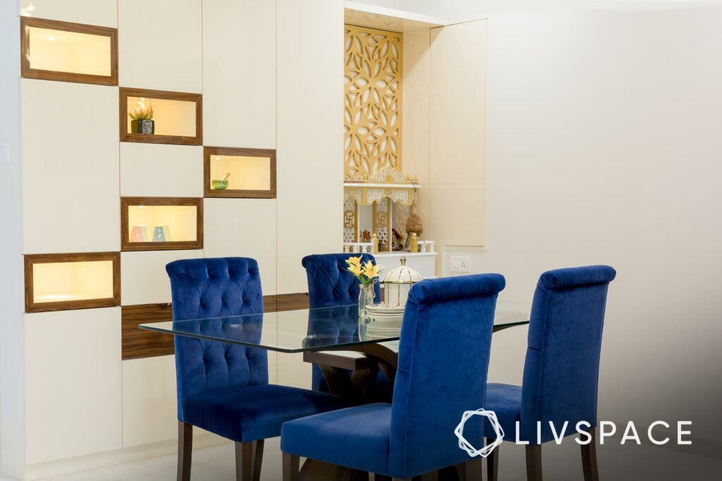 Crockery unit-showcase-dining room