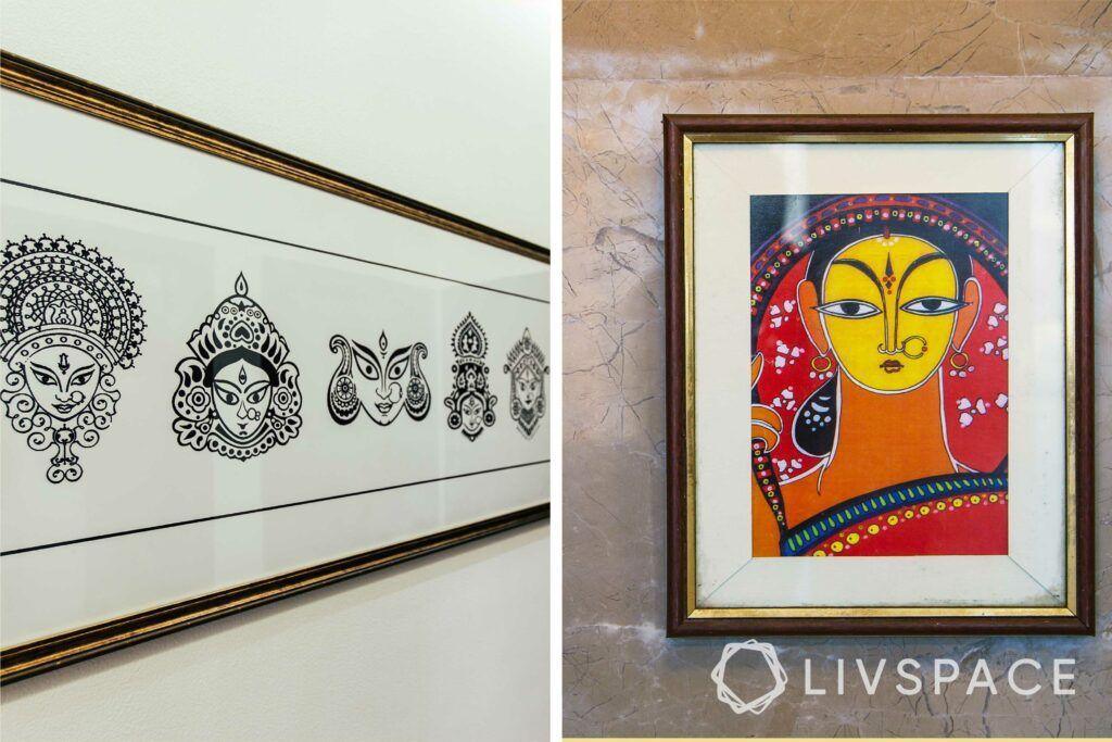 how to choose artwork for your home-folk art-regional art