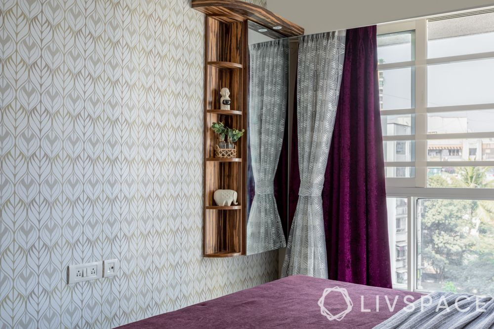 guest room design-window treatment-curtains