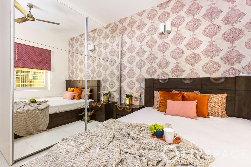 3 BHK Home Design-Mother Bedroom