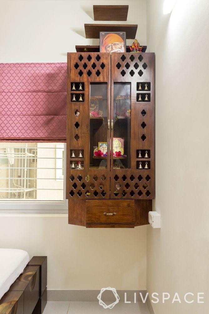 Mother bedroom-pooja unit