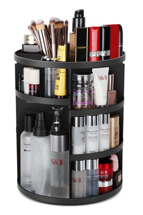 bathroom-accessories-amazon-rotating-cosmetic-organiser