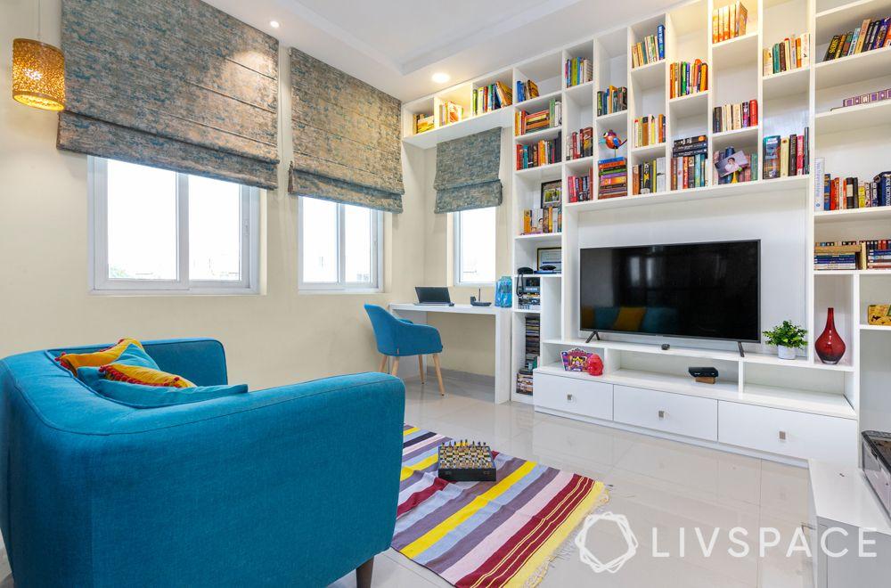 3bhk-flats-study-room-bookshelf-poonam-chaudhury