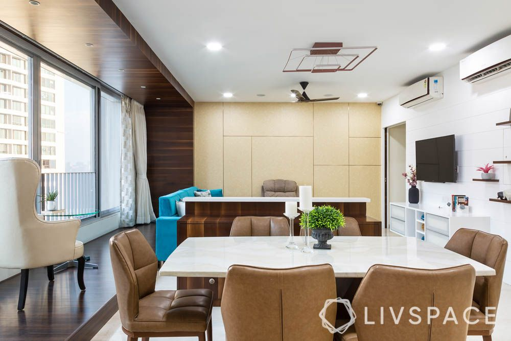 3bhk-house-design-dining-table