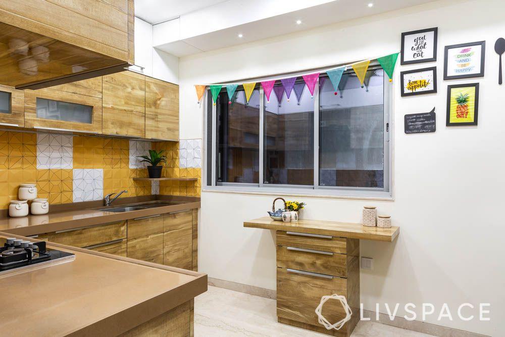 3bhk-house-design-breakfast-table
