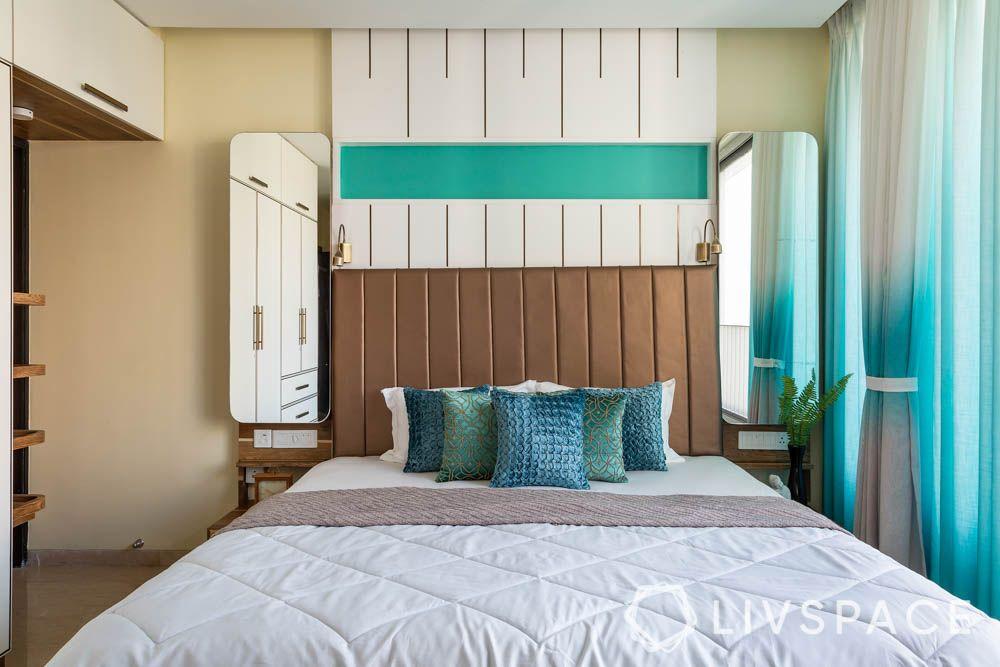 3bhk-house-design-parents-bedroom-bed