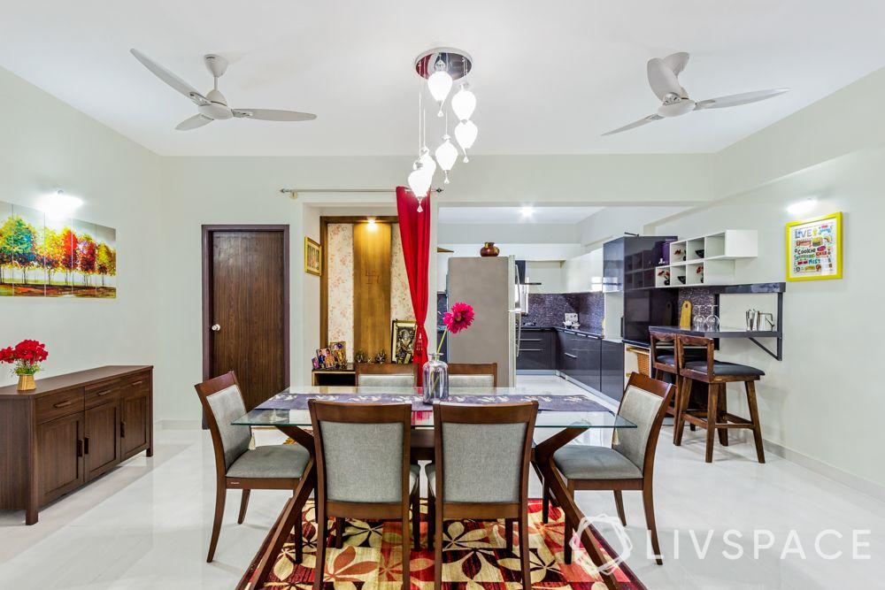 vastu shastra tips-dining room chandelier