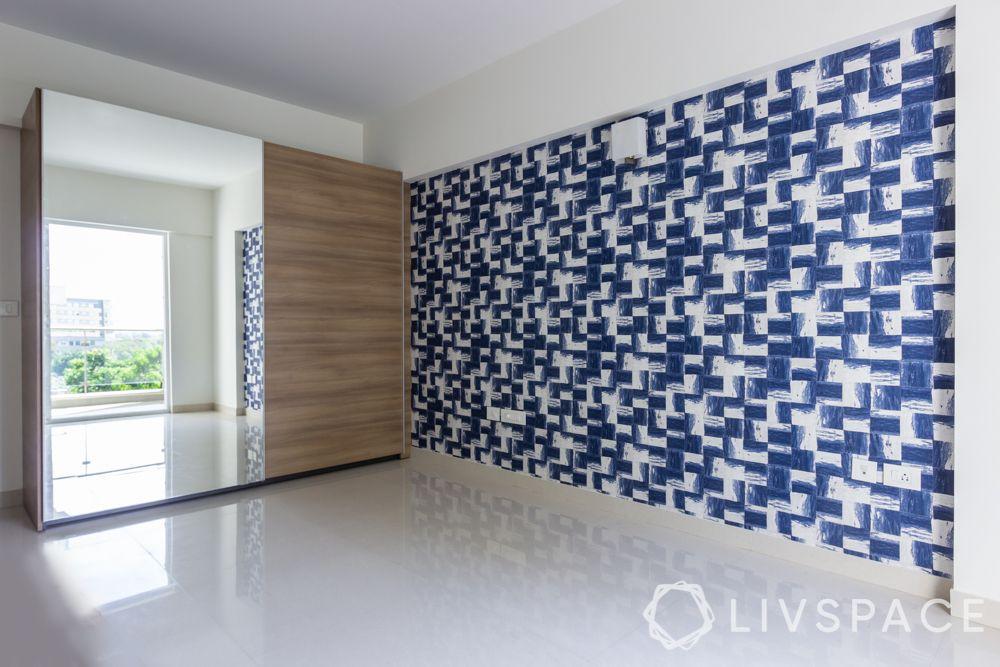 wallpaper-home-decor-blue-wallpaper-geometric