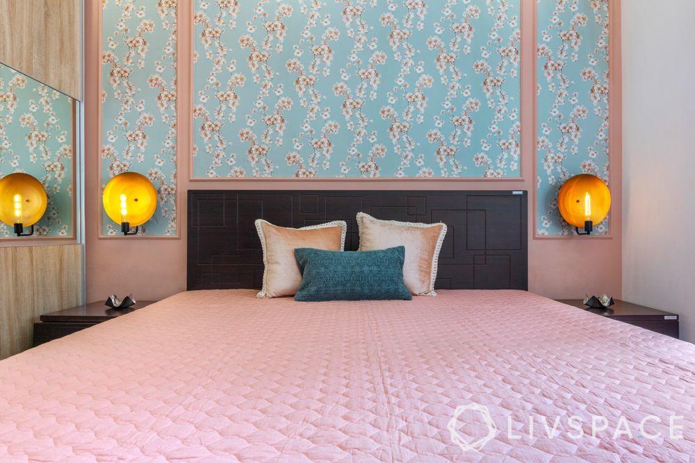 wallpaper-home-decor-floral-wallpaper-blue
