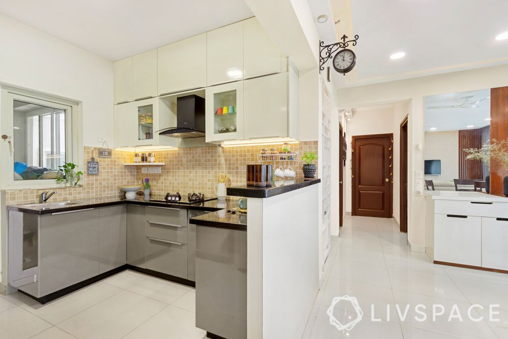2020 kitchen design-grey kitchen-u-shaped kitchen