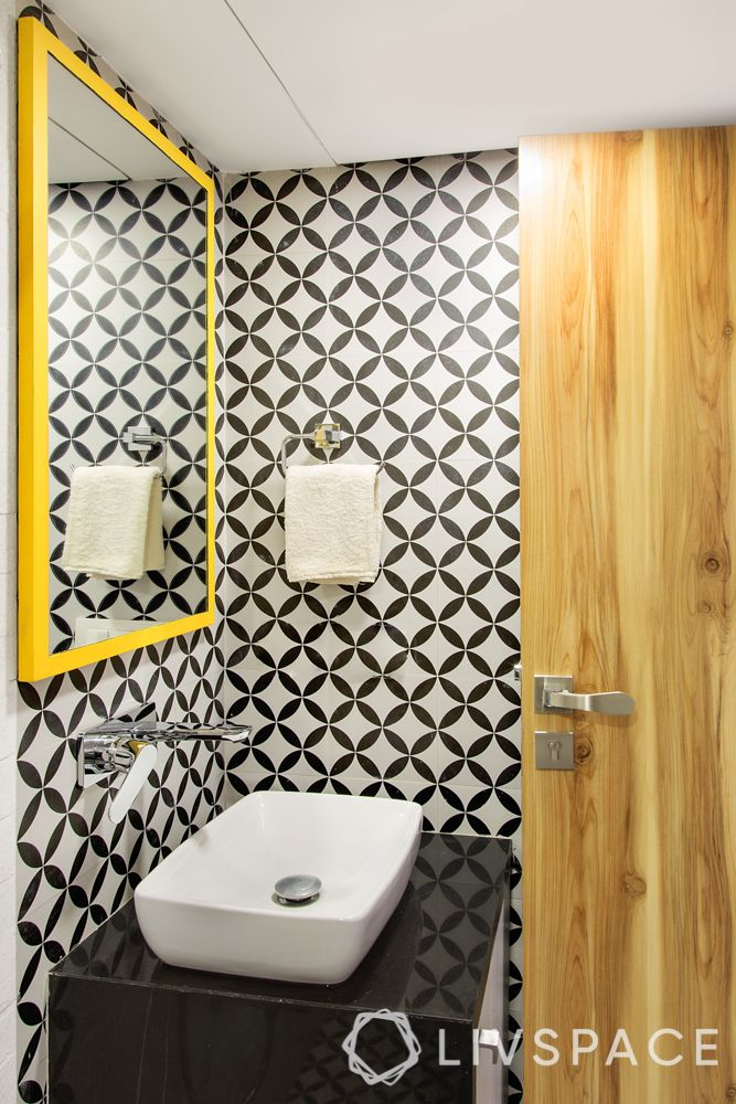 Wall design ideas-bathroom-tile skin