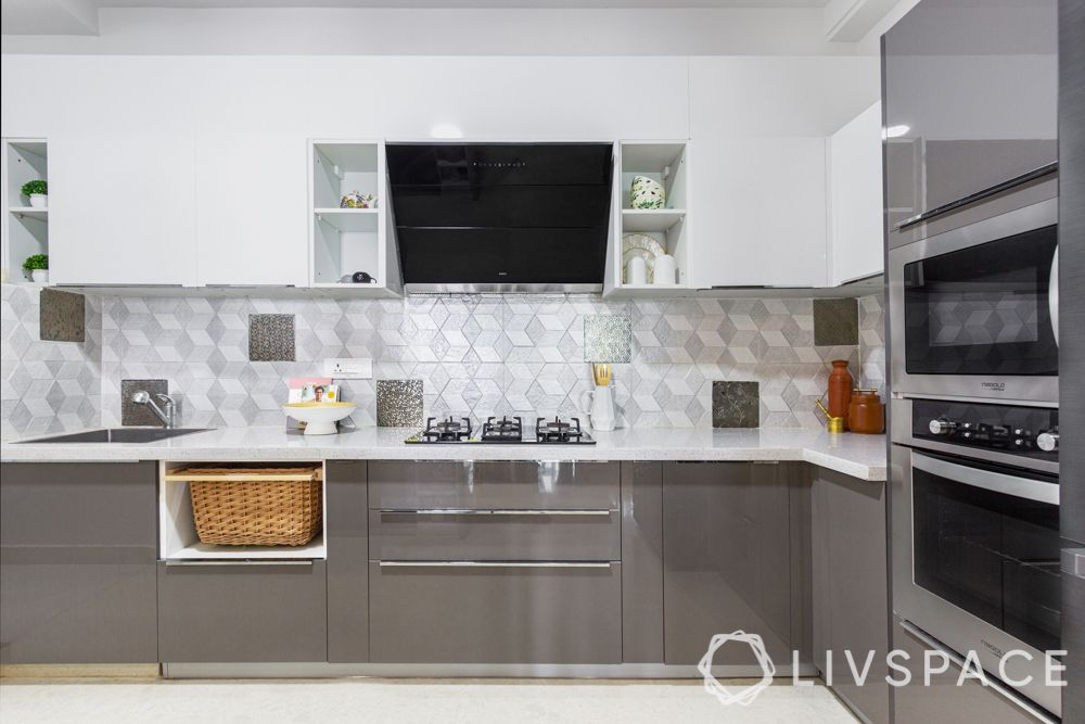 3-bhk-flat-interior-design-grey-cabinets-quartz-countertop