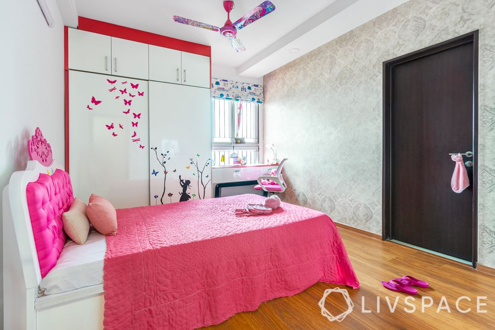 3-bhk-flat-interior-design-pink-bedroom