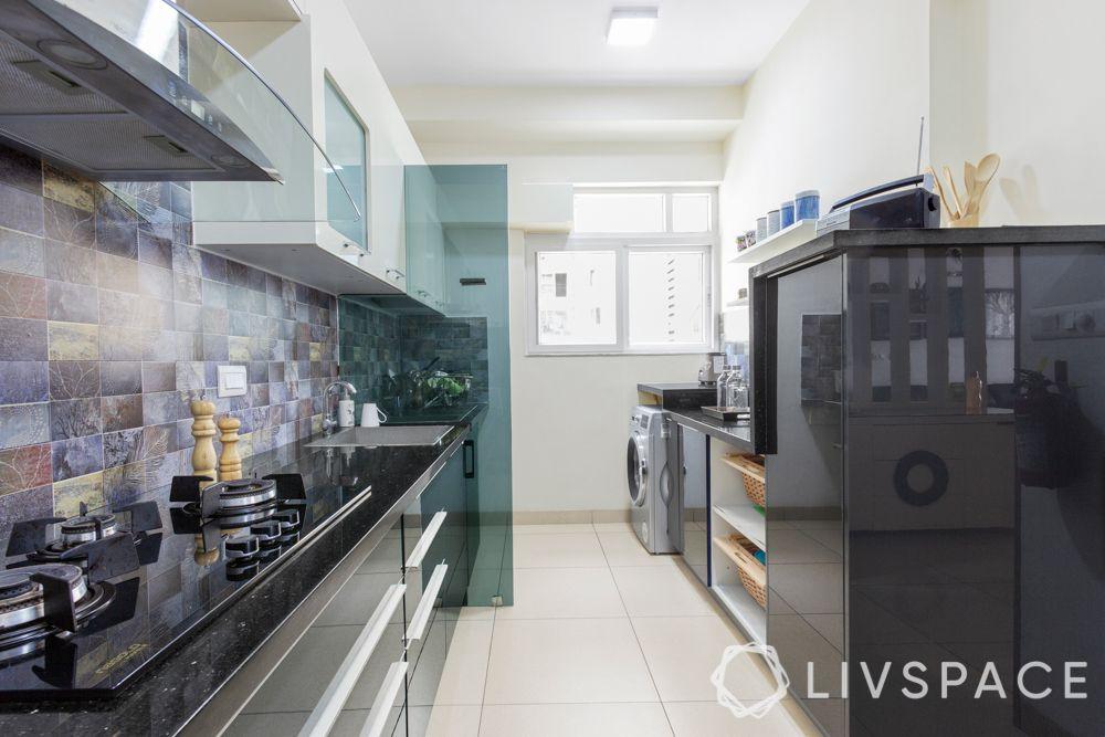 kitchen partition designs-grey kitchen-glass partition designs