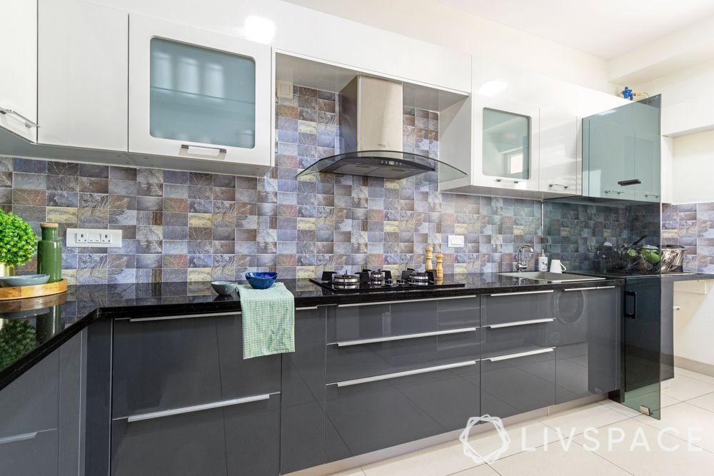 kitchen partition designs-grey and white kitchen-glass partition designs