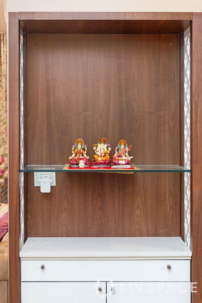 simple pooja room