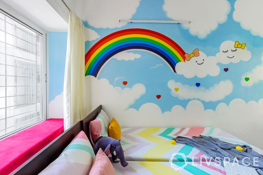 hand painted wall-wall painting ideas